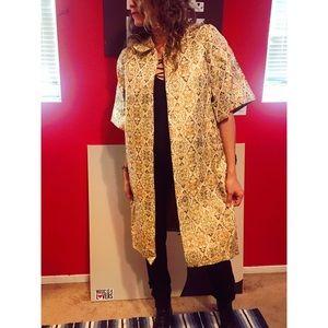 Fashion gold tunic one size